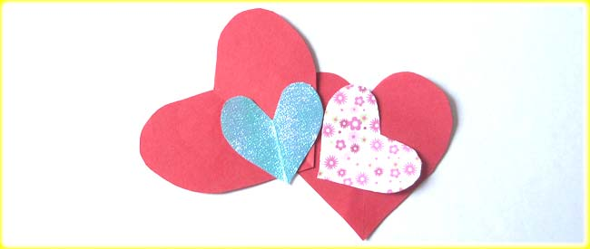 Kids Craft | Heart Bookmark